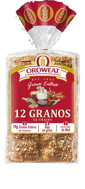 Oroweat Pan 12 Granos
