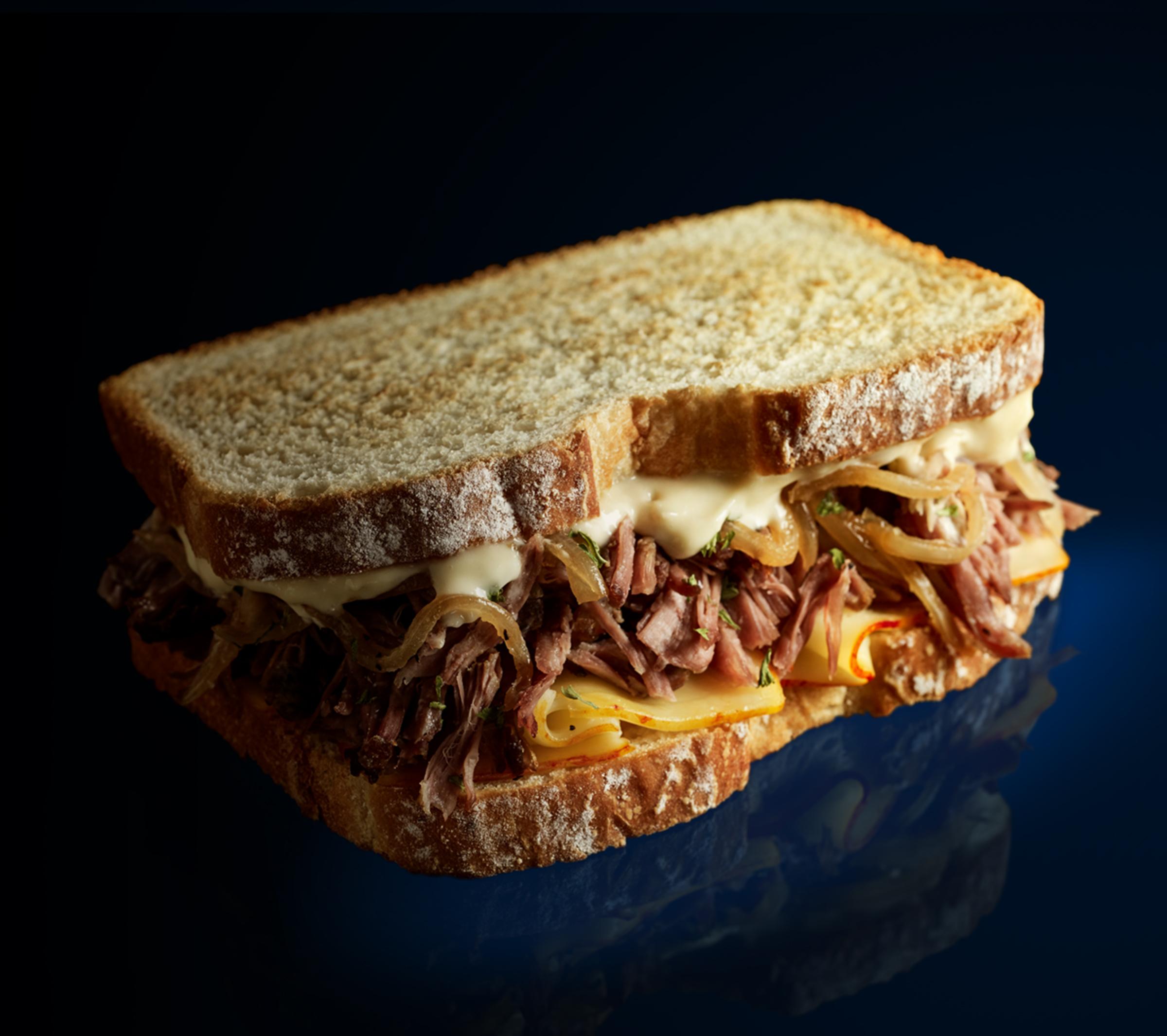 Sándwich de Short Ribs
