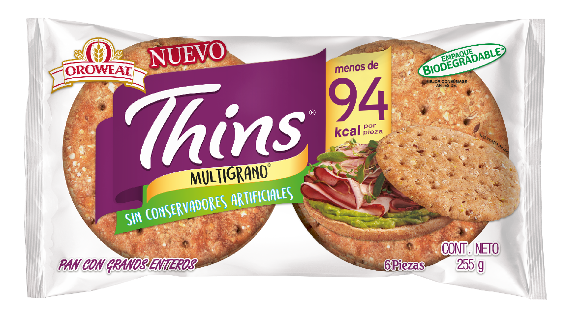 Thins Multigrano 6 piezas