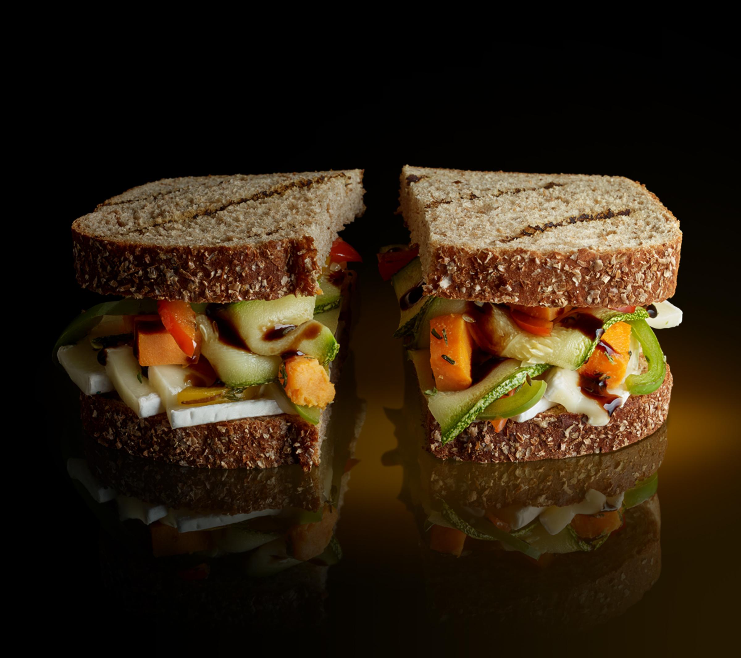 Sándwich de  vegetales